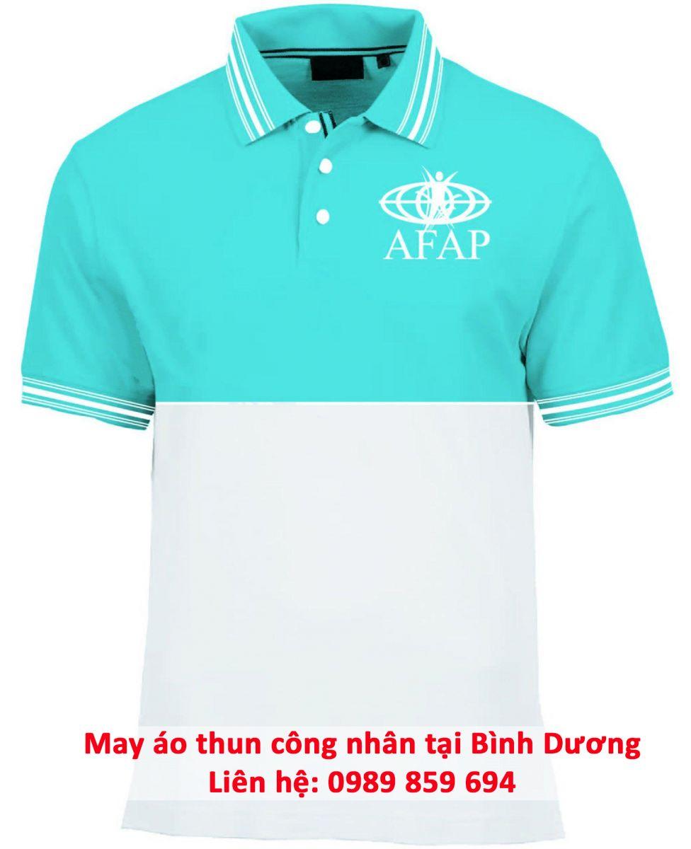 may áo thun công nhân giá rẻ