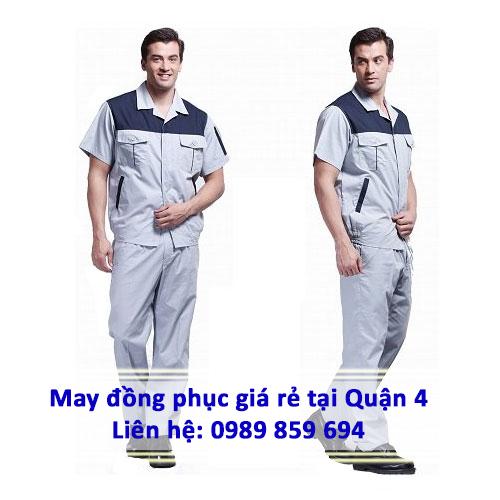 may đồng phục giá rẻ tại quận 4